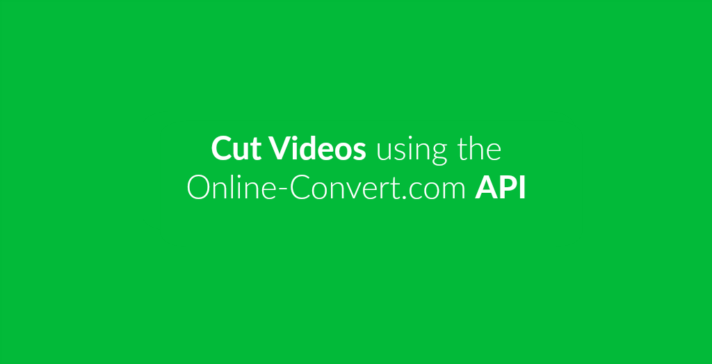 How To Cut Video Files.