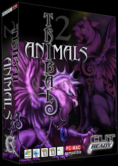 Tibal Animal Clip Art.