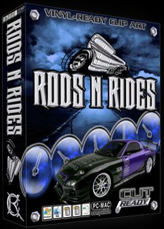 Amazon.com: Rods N Rides Vehicle Vector Clipart Vinyl Cutter Slgn.