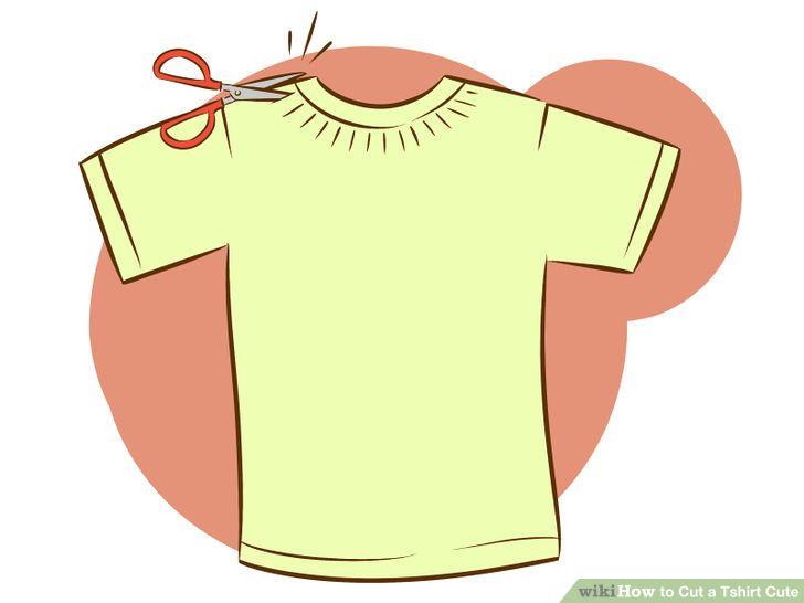 3 Ways to Cut a Tshirt Cute.