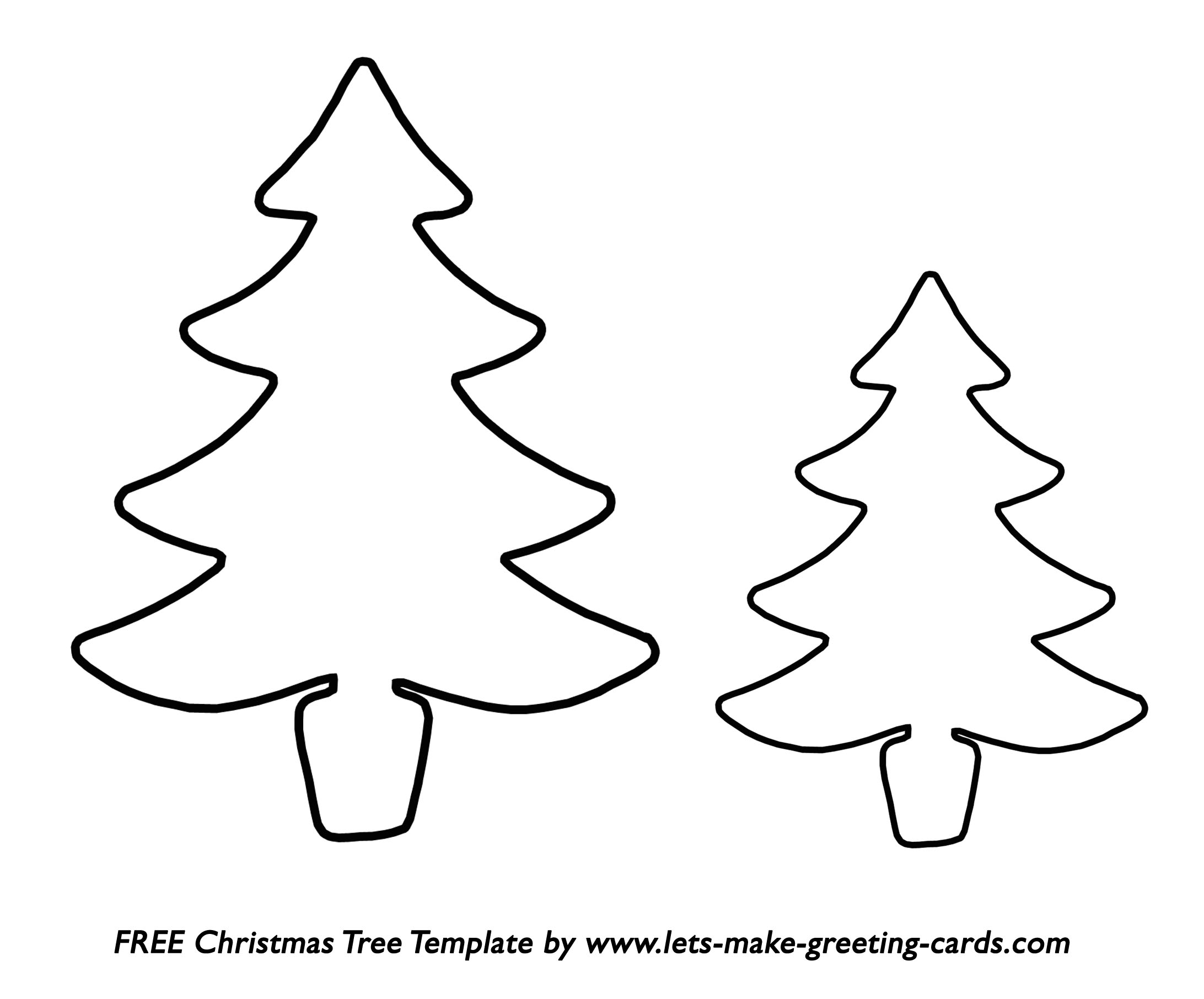 Clipart stencils tree for free.