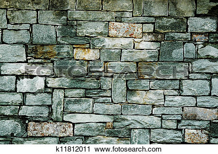 Stock Photography of Cut stone wall background k11812011.