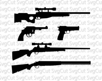 Gun svg files.