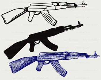 Rifle clip.