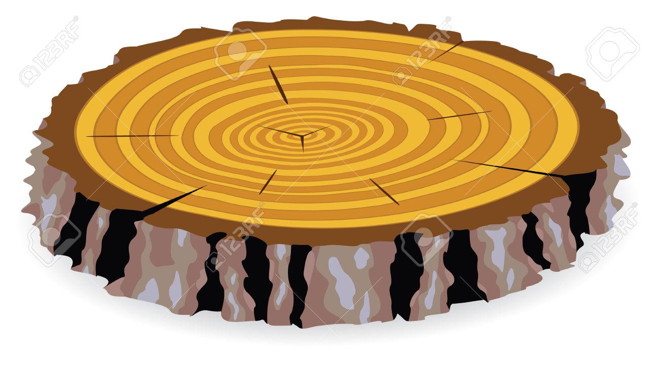 Wood Cut Clipart.