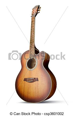 Stock Photo of Acoustic guitar.