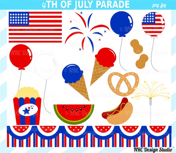 Cute 4th Of July Clipart#2136416.