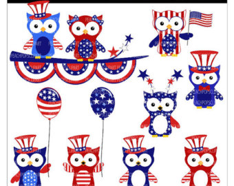 4th Of July Clipart Cute.