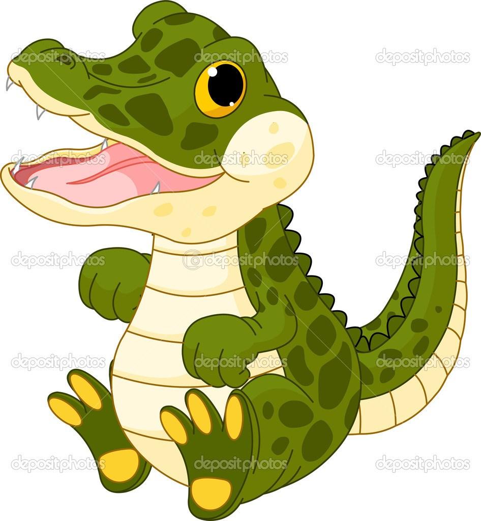 Cute alligator clipart 8 » Clipart Portal.
