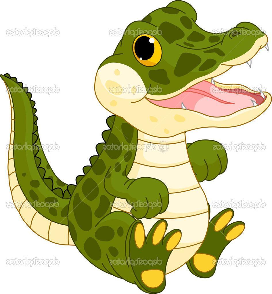 Best Free Cute Alligator Clip Art Cdr » Free Vector Art, Images.