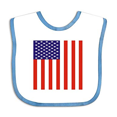 Amazon.com: Soft Clipart American Flag Baby bibs.
