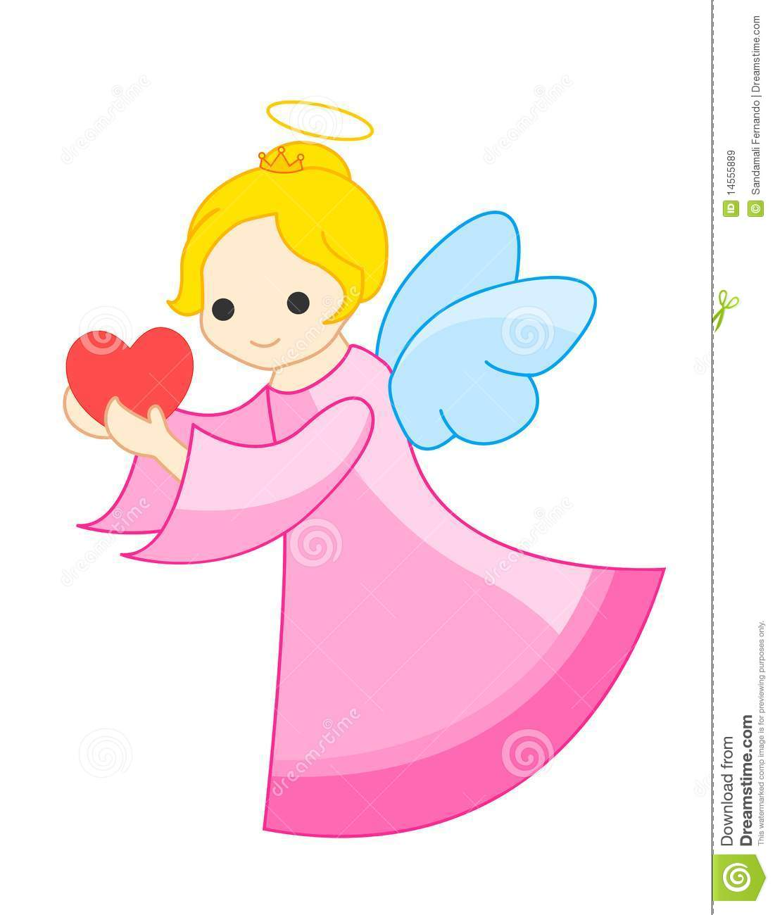 Cute angel clipart 1 » Clipart Station.