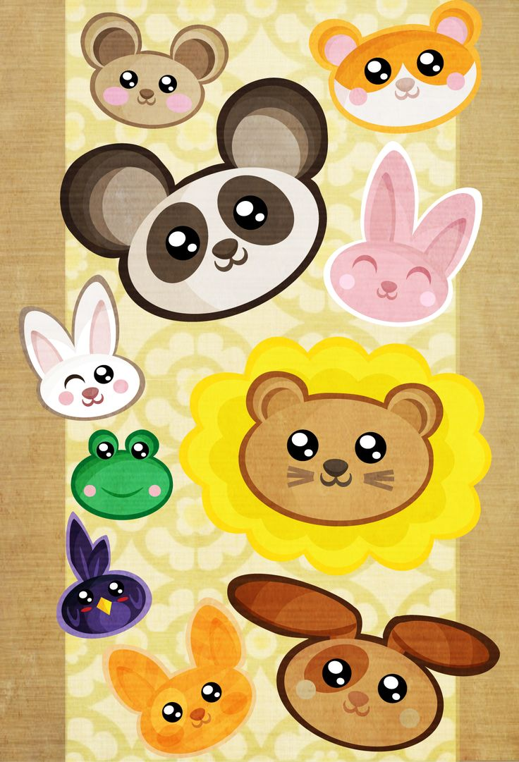 cute animal mid summer clipart #7