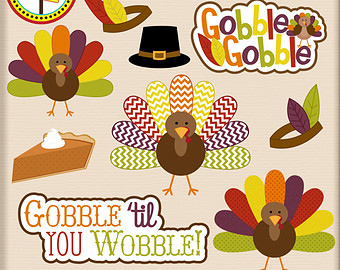 Gobblers Thanksgiving Clipart.