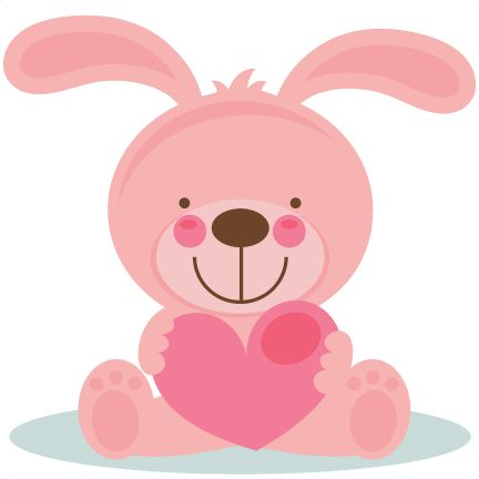 Free Valentine Animal Clipart.