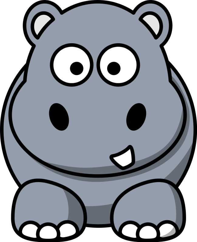 Cute Cartoon Animal Clipart.