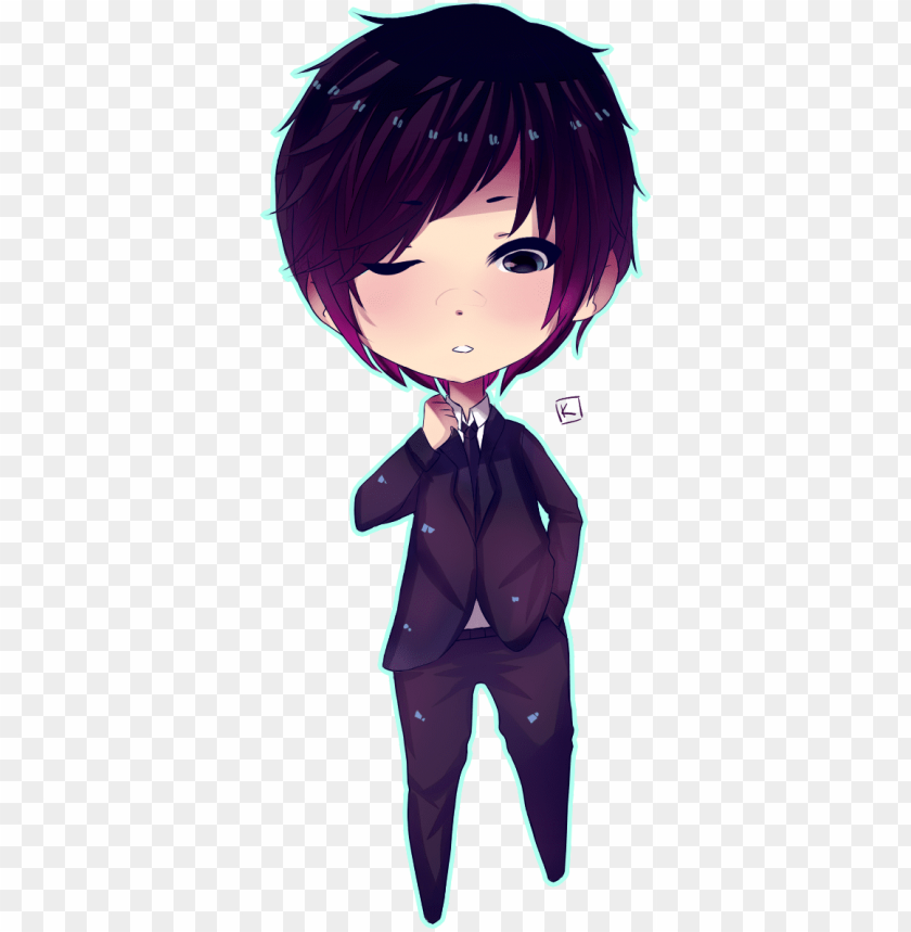 cute anime boy transparent clipart free download ya.
