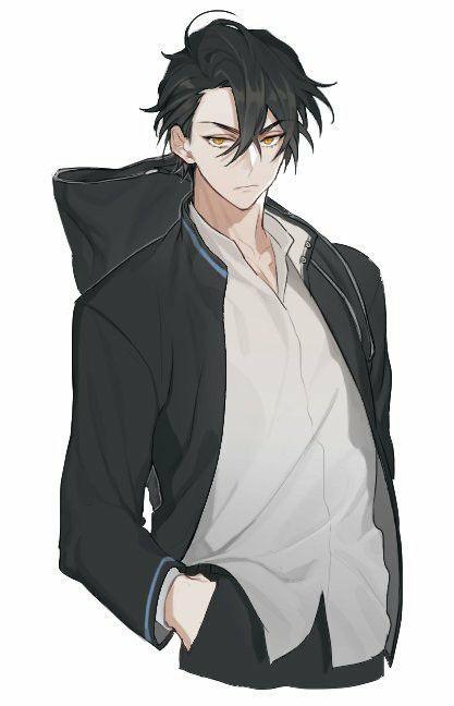 Anime Boy Clipart greaser 5.
