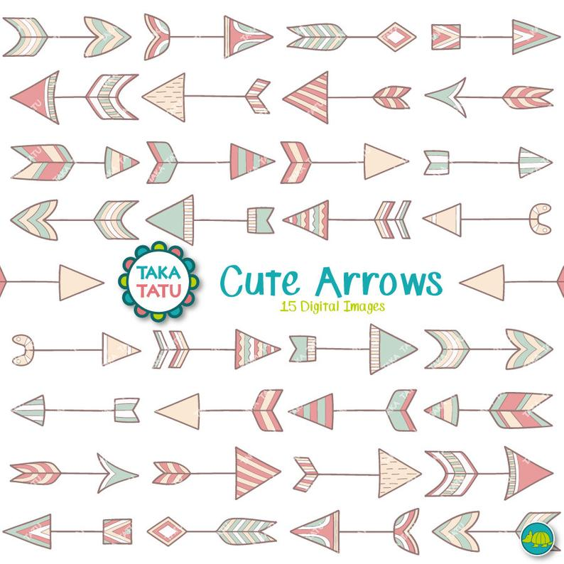 Cute Arrows Clipart.