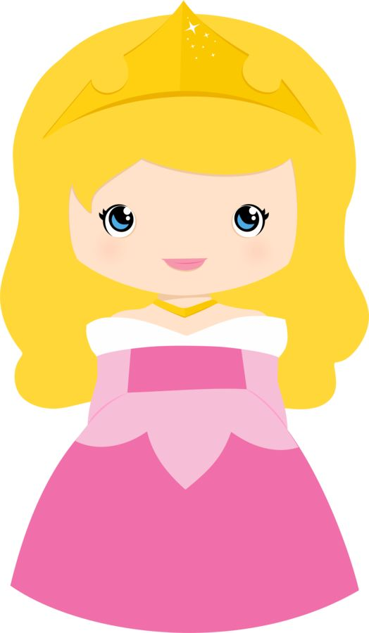Cute Aurora Clipart.
