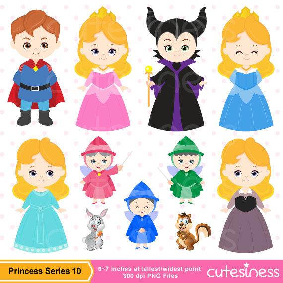 Princess Aurora Clipart Cute.