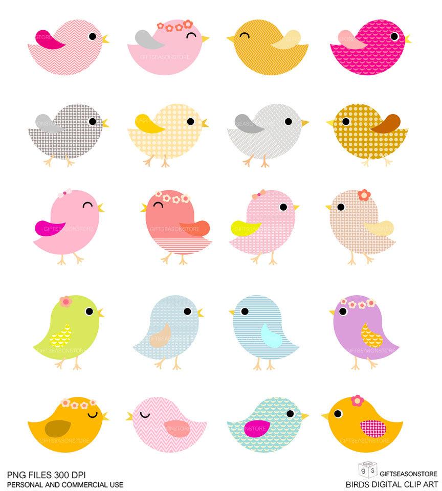Cute Little Bird Clipart.