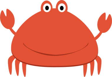 Baby Crab Clipart.