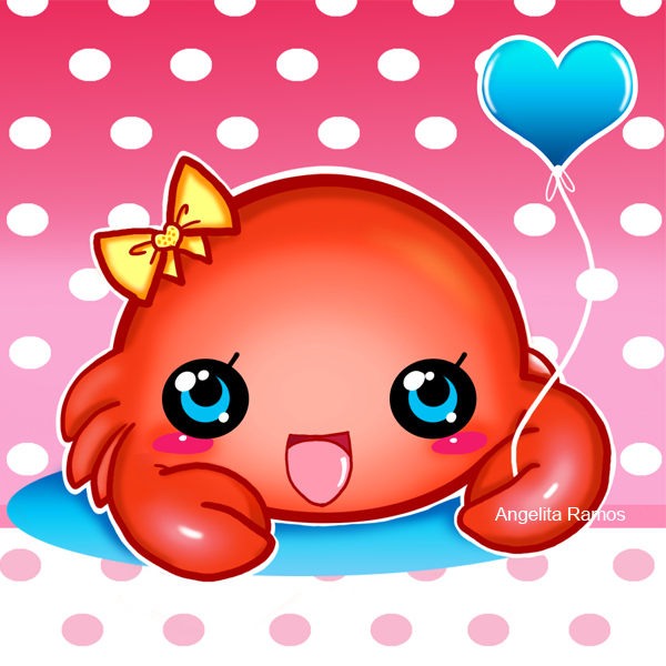 Cute Baby Crab by AngelitaRamos on DeviantArt.