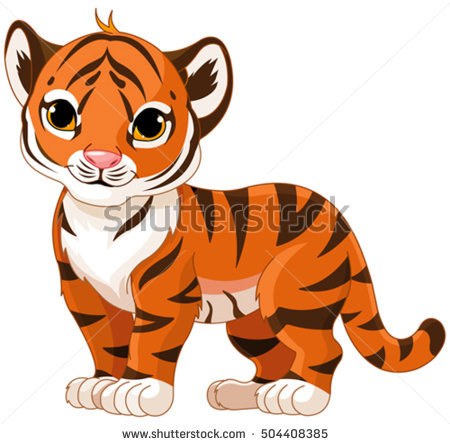 Baby Tiger Stock Images, Royalty.