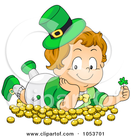 Royalty Free Stock Illustrations of Leprechauns by BNP Design.