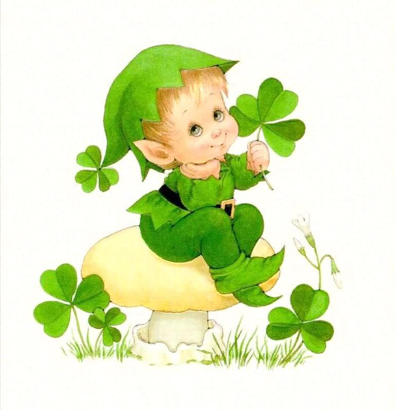 cute baby leprechaun c...