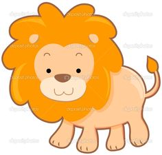 Baby Clipart: Baby Lion Clip Art.
