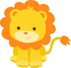 8 Safari Animals Clip Art Images.