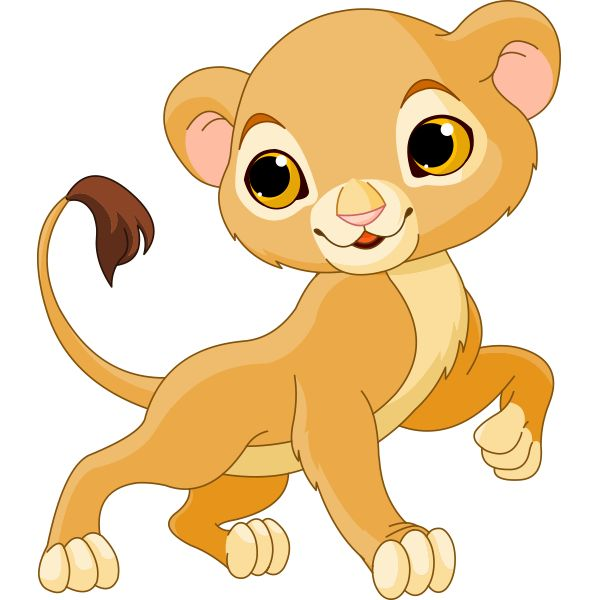 lion baby clipart #11