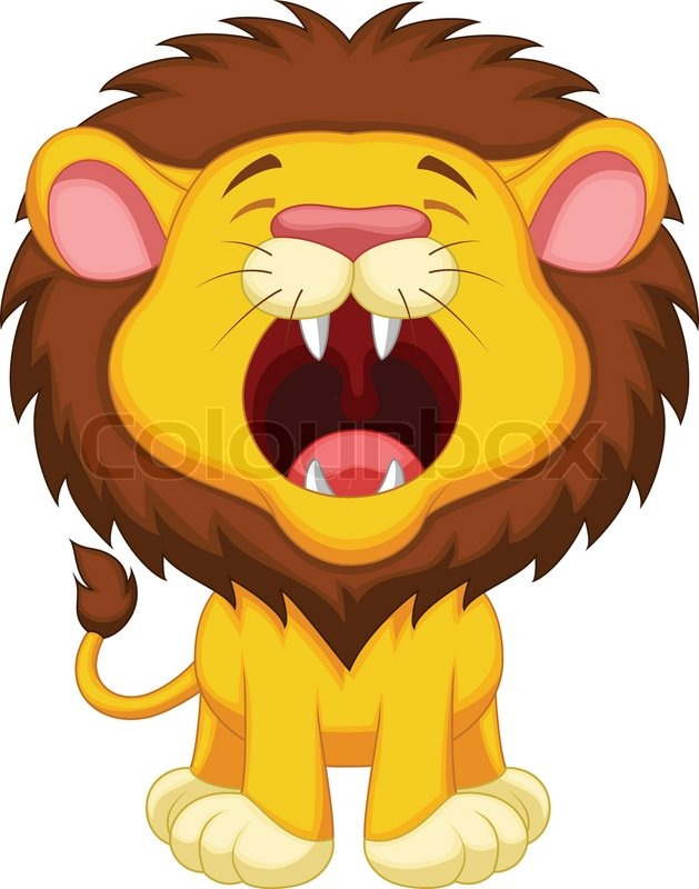 lion roaring clipart images - Clipground