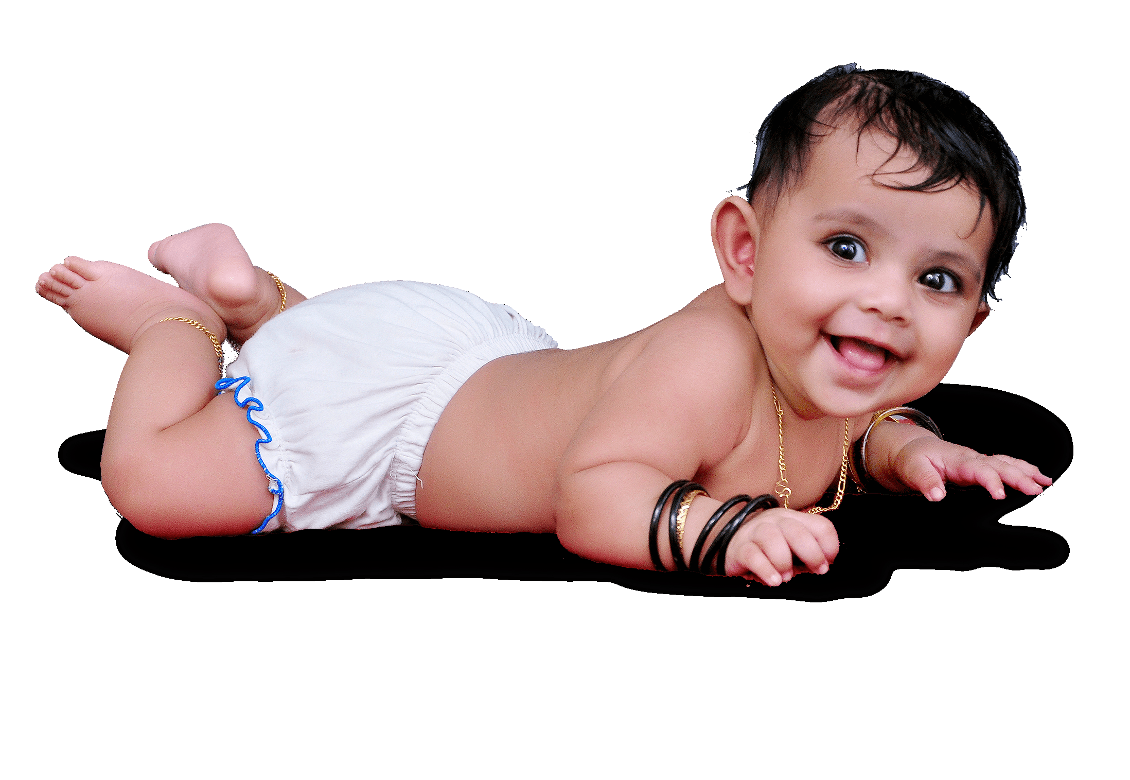 Indian baby png image.