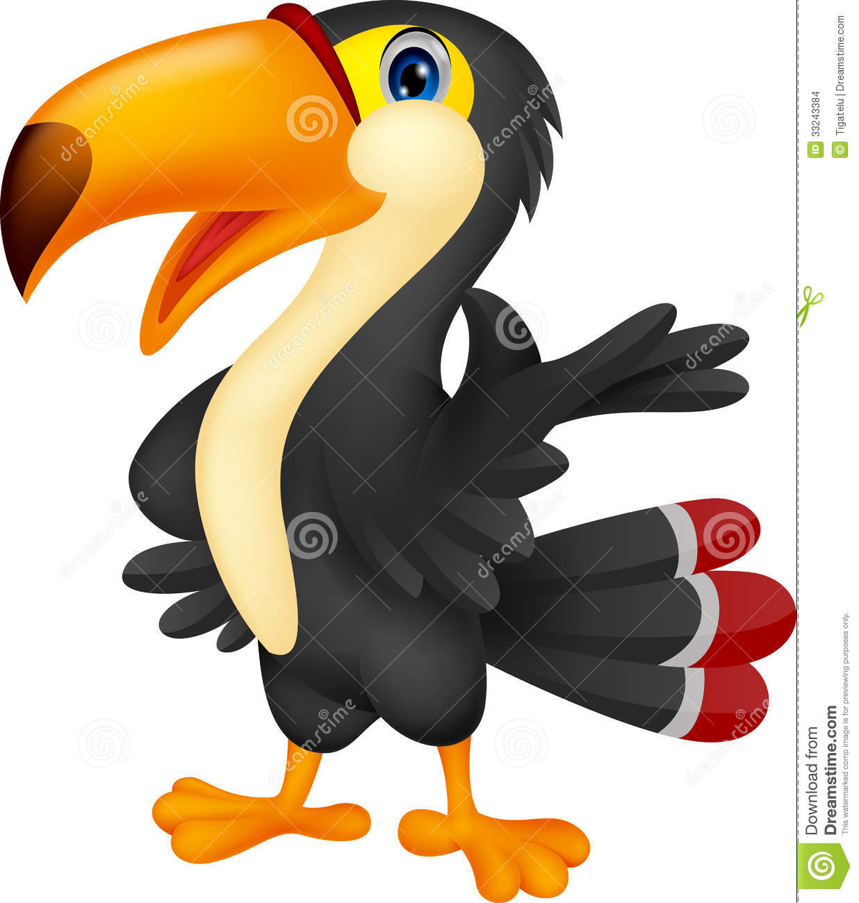 Showing post & media for Cartoon baby toucan.