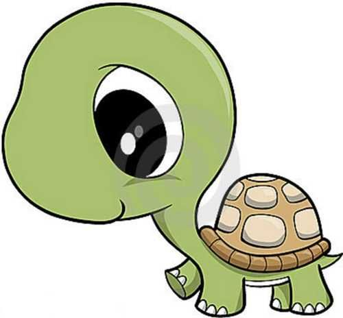 Clipart Baby Turtle.