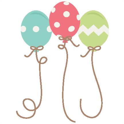 Balloons Clipart Cute.