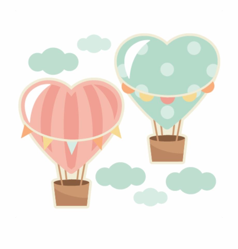 Love Clipart Hot Air Balloon.