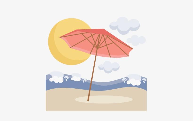Umbrella Clipart Png Beach Umbrella Scene Svg Scrapbook.