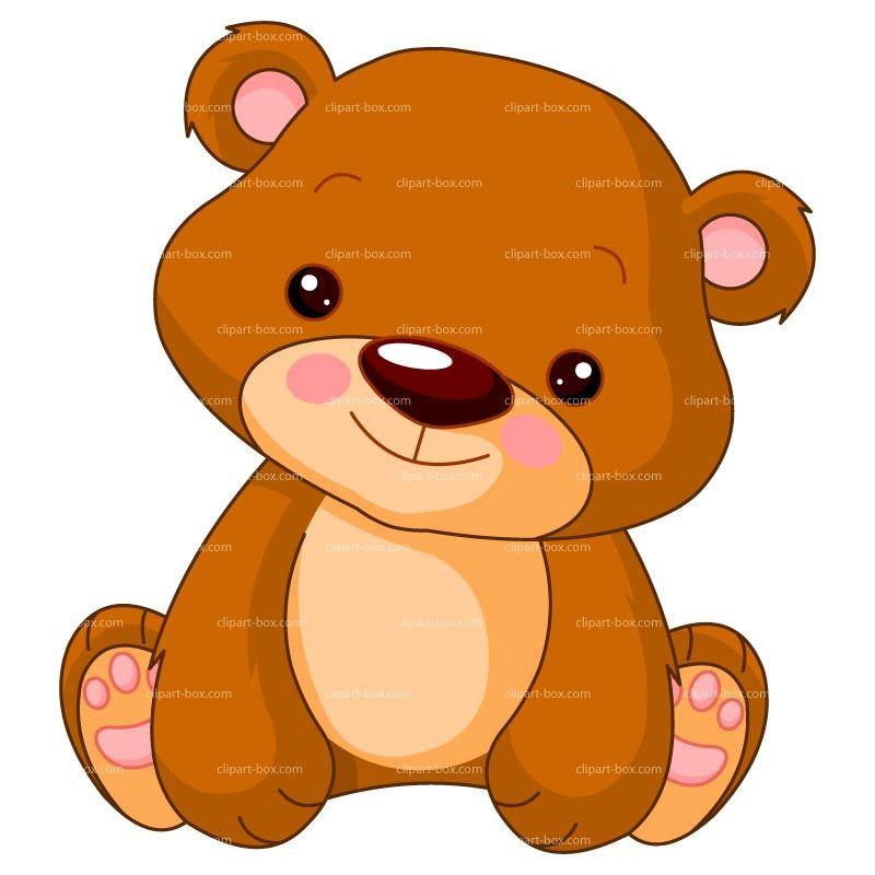 CLIPART CUTE BEAR.