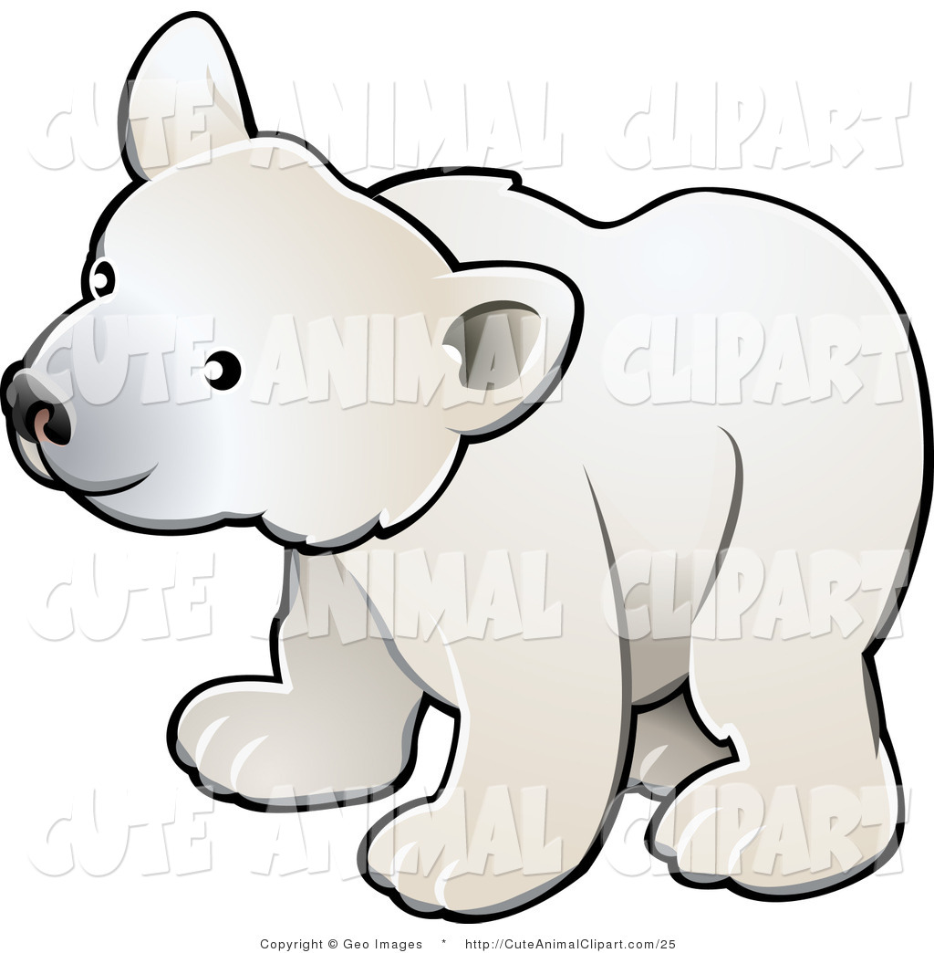 Polar Bear Cub Clipart.