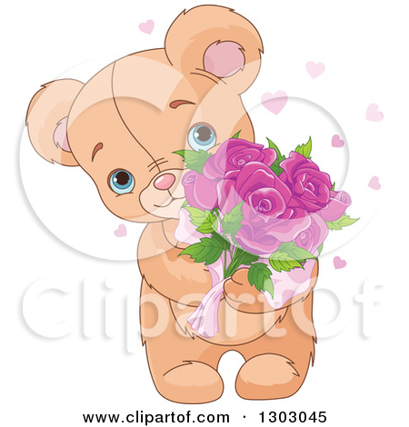Royalty Free Stock Illustrations of Teddy Bears by Pushkin Page 1.