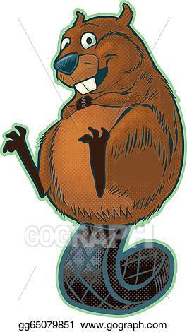 Cute beaver clipart 4 » Clipart Portal.