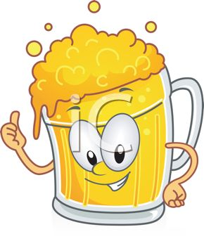 Beer stein Vector cartoon clip art of a cute clipart collection 6.