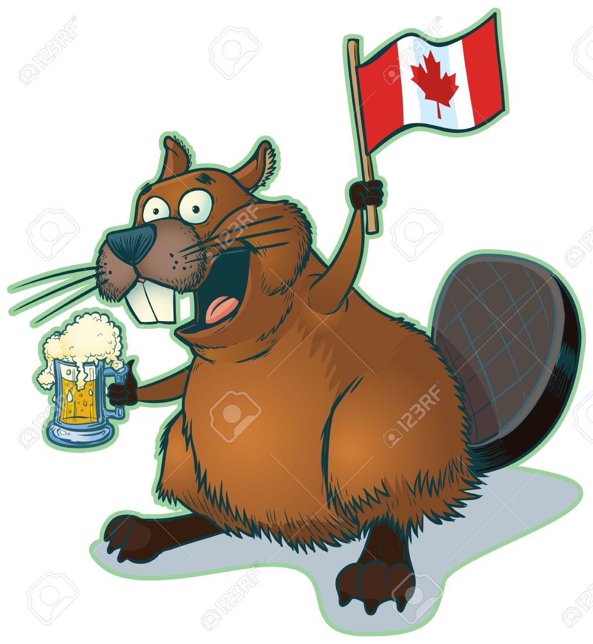 Beer stein Vector cartoon clip art of a cute clipart collection 6.