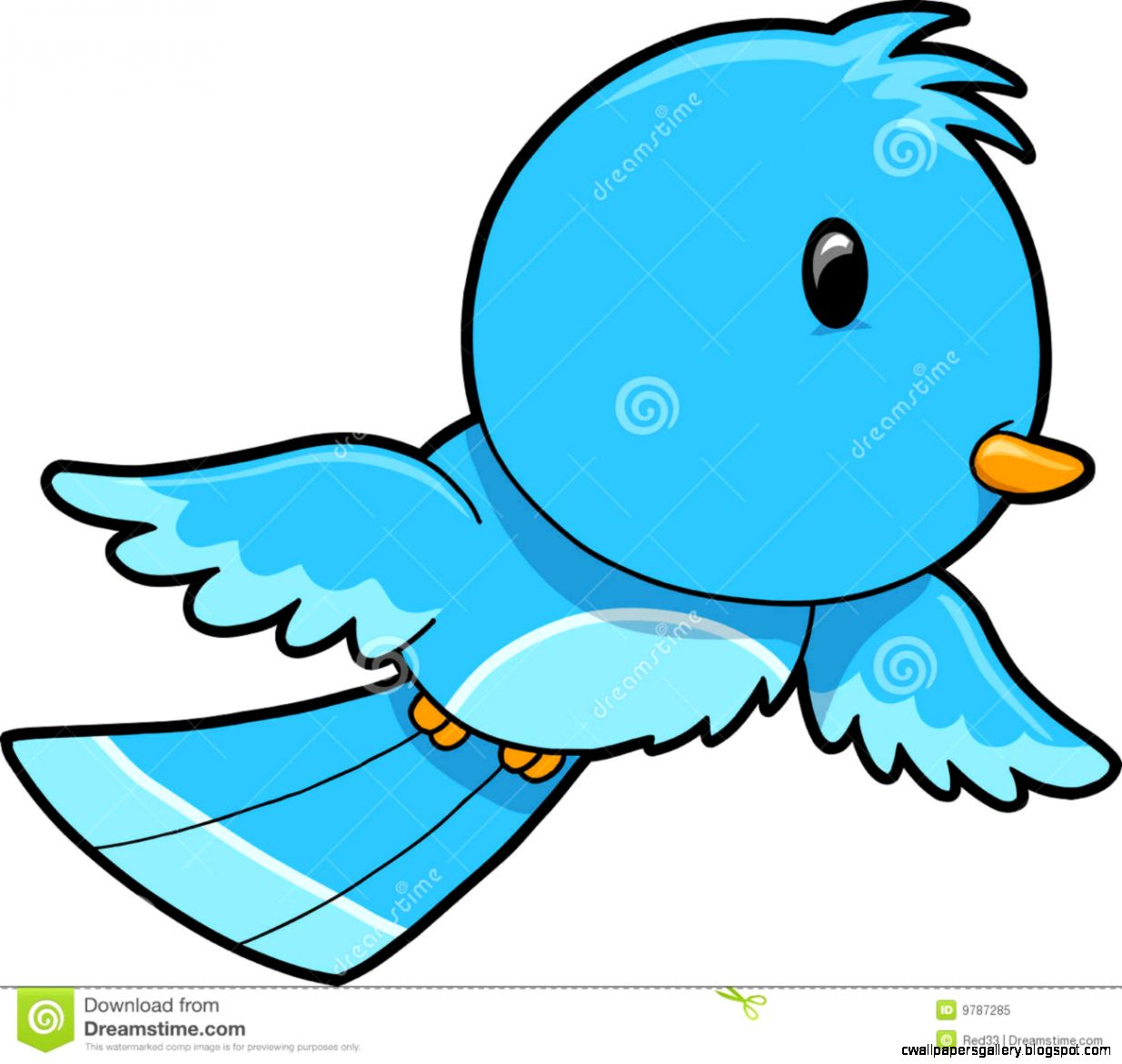 Cute Flying Bird Clip Art Pictures to Pin on Pinterest.