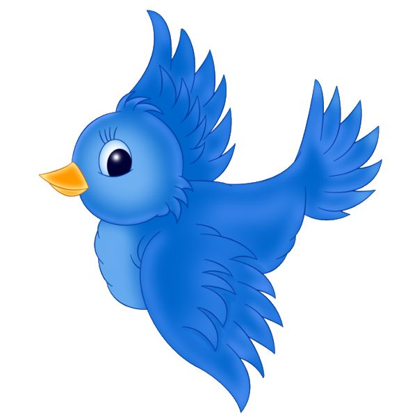 cute bird flying clipart - Clipground
