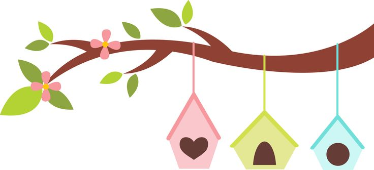 Birdhouse Clipart craft projects, Animals Clipart.